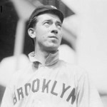 In the first game of adoubleheader,Brooklynswipes six bases in a 7 - 0 win over theCards, who steal two bases. With lefthanderJim Pastoriuspitching in the second game, Brooklyn CBill Bergenthen throws out six (erroneously listed as 7) of eight base-stealing Cardinals in a 9 - 1 St. Louis victory. Bergen's mark is a20th centuryhigh, twice tied in1915.