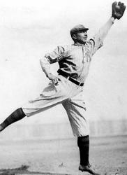 Frank Homerun Baker helps seal win vs Mathewson in 1911 World Series
