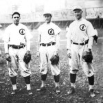 "Chicago Cubs' famed double play combination of ""Tinker to Evers to Chance"" makes its final appearance together in a major league game"