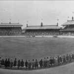 Chicago White Sox defeat the New York Giants, 5 - 4, before 10,000 spectators in an exhibition game at the Sydney Cricket Ground part of the two teams' world tour. The major leagues will next return to Australia one hundred years later, when the Dodgers and Diamondbacks open the 2014 major league season in the historic stadium.