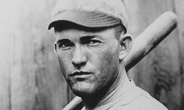 Rogers Hornsby makes his major league debut for the Cardinals