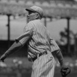 New York'sRube Bentontosses both ends of a doubleheader against the falteringBrooklyn Robins' winning the opener, 6 - 1 and losing the second game' 2 - 1' toRube Marquard. Benton gives up 14 hits in the two games.Art Fletcheris the offensive star of game 1, hitting a homer and stealing second base, third base and home in the 3rd. The steal of home is on the front end of adouble stealwithWalter Holke.