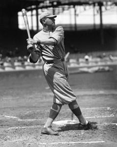Babe Ruthhitshome runNo. 26 offJack Quinnin New York, breakingBuck Freeman's1899home run mark of 25.