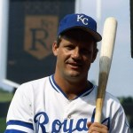 George Brett of the Kansas City Royals goes 0 for 4 in a 9 - 0 loss to the Oakland Athletics, to drop his average below .400. He is now hitting .396 and will finish the season at .390.