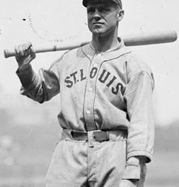 George Sisler of the St. Louis Browns collects his 257th