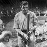Babe Ruth hits home runs number 57 and 58 plus a double and a walk to beat the Indians, 8 - 7, and the Yankees take a two-game lead. George Burns adds a triple and three singles for New York in the come-from-behind win. The Indians load the bases in the 9th inning but Steve O'Neill strikes out on a Carl Mays fastball in the dirt to end it.