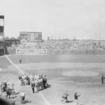"""AtSportsman's Park, theSt. Louis Cardinalswear their newuniforms(two red birds on a bat with the words """"Cardinals"""" across the front) for the first time in anexhibition contestwith theSt. Louis Browns. Browns pitcherUrban Shockertops the Cardinals'Willie Sherdel, 3 - 2, the same result as their matchup a week ago."""