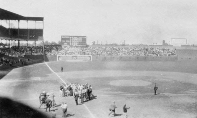 """AtSportsman's Park, theSt. Louis Cardinalswear their newuniforms(two red birds on a bat with the words """"Cardinals"""" across the front) for the first time in anexhibition contestwith theSt. Louis Browns. Browns pitcherUrban Shockertops the Cardinals'Willie Sherdel, 3 – 2, the same result as their matchup a week ago."""