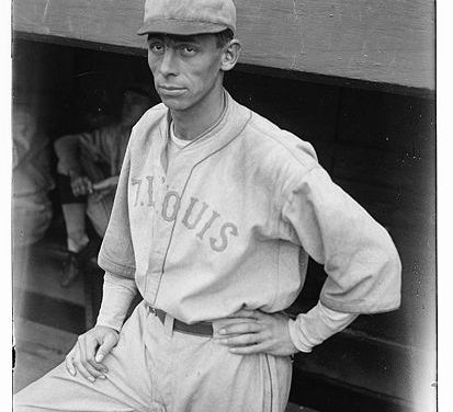 Ken Williamsof theSt. Louis Brownshits three home runs and two singles in the Browns' 10 – 7 victory against theChicago White Sox