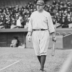 1922 - After hitting home run number 28 in the 1st inning, Babe Ruth argues too strongly over a called strike in his next at bat, and he is thrown out of the game. He'll be suspended for the fifth time of the year, and is out for three days.