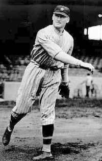 In a game which features President Woodrow Wilson throwing out the first pitch, Washington's Walter Johnson starts a 56 inning scoreless streak