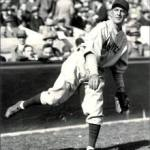 Jimmy Cooney turns an unassisted triple play against the Pittsburgh Pirates