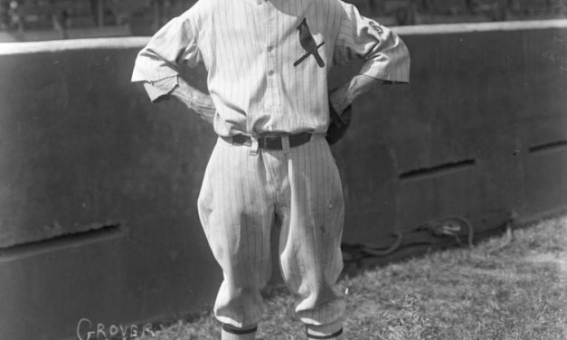 St. Louis Cardinals pitcher Grover Cleveland Alexander opens his 18th season by shutting out the Pittsburgh Pirates, 5 – 0.