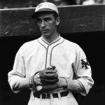 Carl Hubbell's first major league victory is a 4 - 0 shutout of the Phils. He'll be 10 - 6 down the stretch and will pitch 16 years with the Giants.