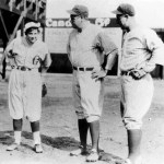 Babe Ruth, Lou Gehrig and Mitchell