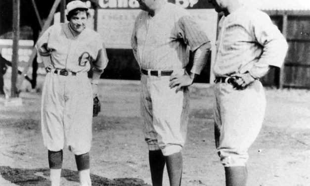 Jackie Mitchell, a 17 year-old girl, strikes out Babe Ruth and Lou Gehrig