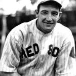 On his 32nd birthday, OF Earl Webb of the Red Sox ties and then sets the still-standing major-league record for two-base hits at 65. Earl doubles in the lidlifter, a 9 - 2 win over the visiting Indians, to tie George Burns' double record at 64. Burns set his record in 1926. In the second game, a 2 - 1 Sox loss, Webb doubles off Pete Jablonowski to set the record. He doubles tomorrow and will finish the season with 67. He would have had 68, but on August 4th, the league corrected a May 1st box score, turning what had been credited as a double into a single.