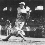 Al Simmons makes an unassisted double play against the St. Louis Browns