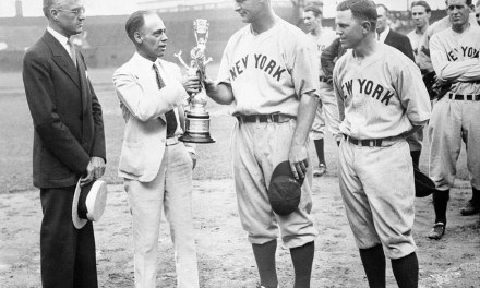 Lou Gehrig plays in his 1,308th consecutive game