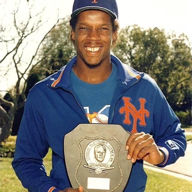 Dwight Gooden becomes the youngest player in history to win the Rookie of the Year Award