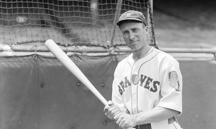Wally Berger hits a home run' 2 doubles' and a triple' to tie the modern major league record for extra-base hits in a game' but his Braves lose to the Dodgers' 7 – 5. Berger drives in all of Boston's runs and his homer' his 25th of the year' puts him one ahead of Mel Ott in the home run race.