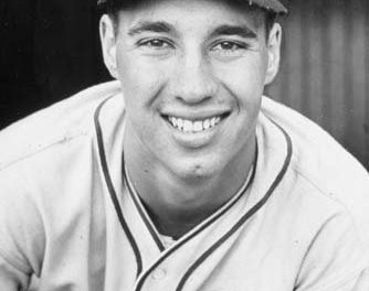 Bob Feller pitches the first of 12 career one-hitters