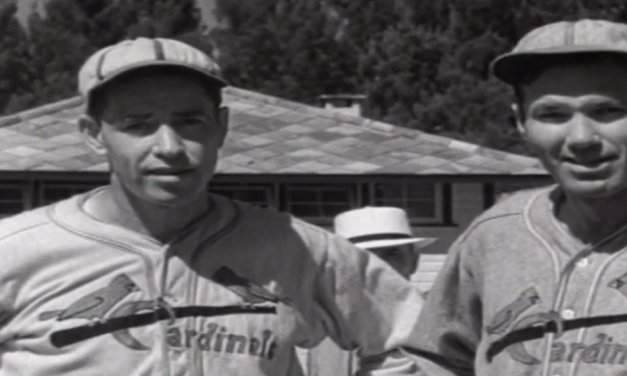 Dizzy Dean predicts that he and his brother Paul will lead the St. Louis Cardinals to the National League pennant