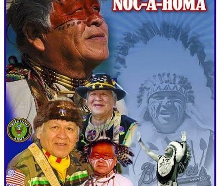 1941– TheBoston Bravesmascot,Chief Nokahoma, adopted today, is considered by many as an aberration of a Natchez Native American and misrepresented in Plains Indians headdress.
