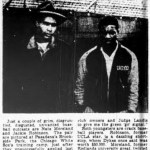 1942 - Two black players, Jackie Robinson and Nate Moreland, request a tryout with the Chicago White Sox during spring training in Pasadena, California. Sox manager Jimmie Dykes allows the two to work out but later dismisses them. Robinson will have to wait five years before making his major league debut.