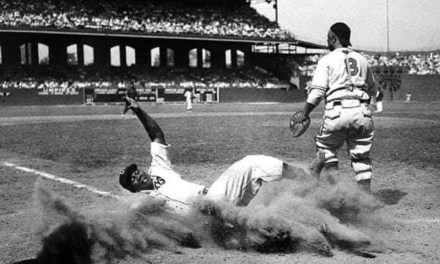 The West takes the 1944 Negro League East-West Game, 7 – 4