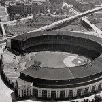 For the first time, the Cleveland Indians will play all their games at Cleveland Stadium. The Indians abandon League Park, where most weekday games have been played since Cleveland Stadium opened. New Cleveland owner Bill Veeck installs an inner fence to cut power alleys from 435 to 365 feet at Municipal Stadium.