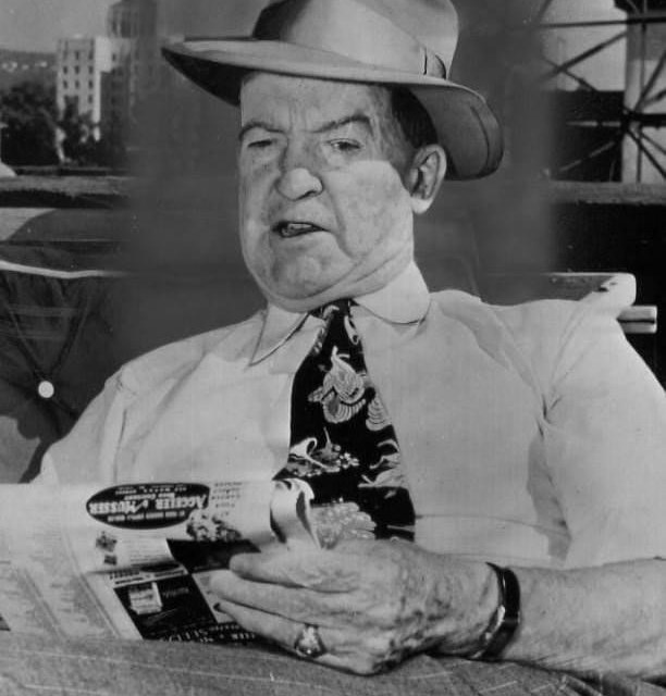 Hall of FamepitcherGrover Cleveland Alexanderis found lying unconscious in an alley inHollywood, CA. The greatOld Pete, who was elected to the HoF in1938, is suffering from epilepsy and is missing one of his ears. He will die from liver disease less than a year later.