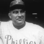 The Associated Press chooses Philadelphia Phillies skipper Eddie Sawyer as Manager of the Year.
