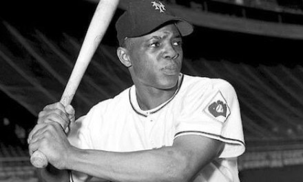 The Giants move to an 8 – 1 lead after five inning over the Pirates behind two homers by Willie Mays. But George Spencer wilts in the heat and gives up homers to Frank Thomas – his first in the majors – and pinch hitter Gus Bell. After Pete Castiglione and Bill Rigney match homers, Ralph Kiner powers one in the 9th inning to give Pittsburgh a 10 – 9 victory. For Kiner, it is his 37th.