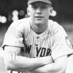 Before 66,110 at Cleveland, Mickey Mantle belts an opposite field 2-run homer off Mike Garcia to help the Yankees win, 7 - 3. New York (77-46) moves to a game back of the Tribe.