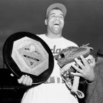 Future Hall of Famer Roy Campanella (.325, 33, 108) wins the first of his three National League MVP Awards. The Dodger backstop will also receive the prestigious honor in 1953 and 1955.