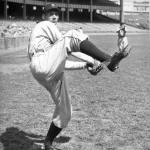 Hal Newhouser of the Tigers wins his 200th game. It is his last win for Detroit, who will release him in early 1953.