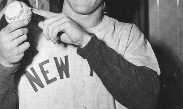 Mickey Mantle hits what is believed to be the longest home run in the history of Washington's Griffith Stadium.