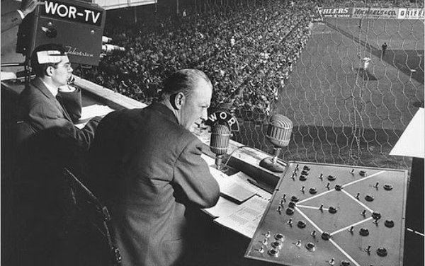 Red Barber resigns as a Brooklyn Dodger broadcaster and will take the 'catbird' seat with the rival New York Yankees