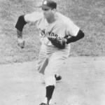 "Brooklyn defeats Giant stalwart Sal Maglie in Ebbets Field, roughing him up for six runs on 11 hits. Since coming into the National League in 1945, the ""Barber"" had recorded 10 straight victories in the Brooklyn ballpark."