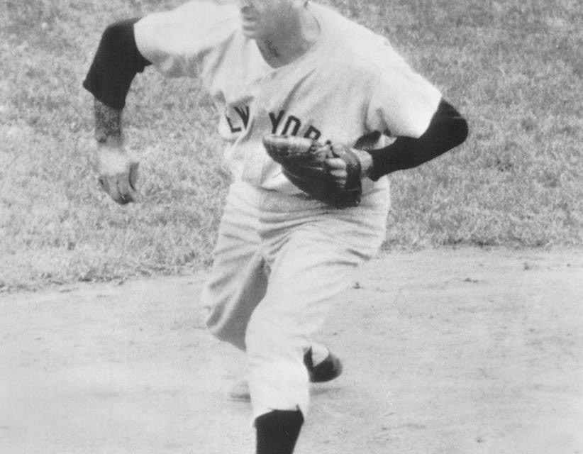"""BrooklyndefeatsGiantstalwartSal MaglieinEbbets Field, roughing him up for six runs on 11 hits. Since coming into theNational Leaguein1945, the """"Barber"""" had recorded 10 straight victories in the Brooklyn ballpark."""