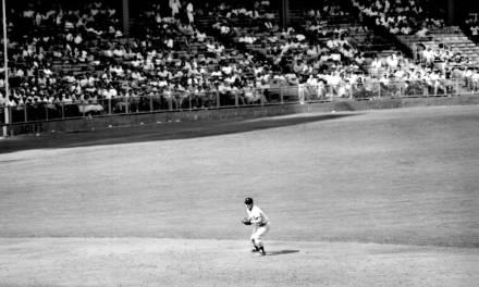 Mantle hits game winning homerun while playing shortstop
