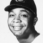 Larry Dobyof theIndianshits the first major league homer over the outer wall inKansas City'sMunicipal Stadium' an estimated 500-foot clout in the 6th. The Indians win, 4 - 2, behindHerb Score' who is replaced in the 9th after singles by CWilmer Shantzand PHEnos Slaughter. Wilmer's brotherBobby Shantzis the loser.
