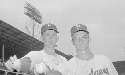 In what will be their most important move of the season, theBrooklyn Dodgersbring up rookie pitchersRoger CraigandDon Bessentfrom the minor leagues. They immediately pay dividends as they beat theRedlegsin both ends of a doubleheader. Craig wins, 6 – 2, and Bessent matches it, 8 – 5.