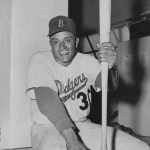 In an 11-4 win over the Phillies, Dodger pitcher Don Newcombe hits his seventh homer, establishing a National League record for home runs by a pitcher in a season. The victory is Newk's 20th of the season.