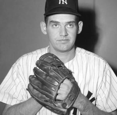 New York YankeespitcherDon Larsenhits agrand slamoffFrank Sullivanof theBoston Red Sox, as New York wins, 13 – 6, atYankee Stadium.