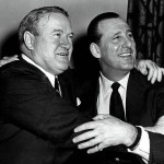 1957- In what is believed to be the largest offer for a player to date,Cleveland Indiansgeneral managerHank Greenbergreject a million-dollar offer for left-handed pitcherHerb ScorefromBoston Red SoxGMJoe Cronin. Greenberg refuses, saying that Cleveland is interested in building for the future, not in selling its premier ballplayers. Score won 20 games in1956and led theAmerican Leaguewith 263strikeouts. Unfortunately, six weeks later, Score will be struck in the eye by a batted ball byGil McDougaldand will win only 19 more games over the rest of his career.
