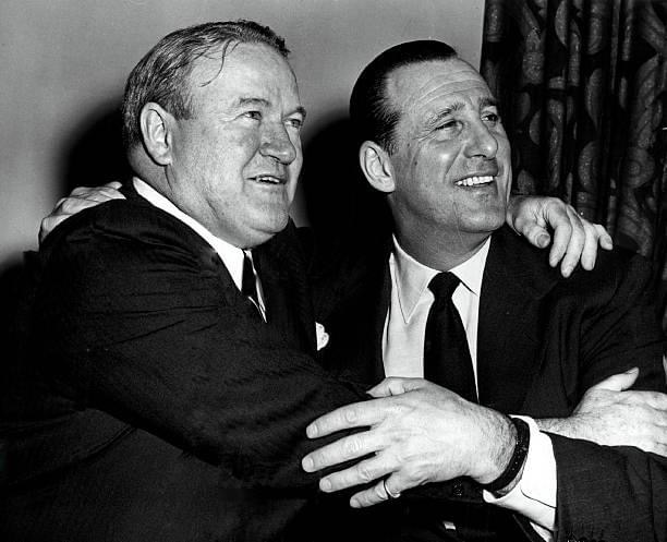 1957– In what is believed to be the largest offer for a player to date,Cleveland Indiansgeneral managerHank Greenbergreject a million-dollar offer for left-handed pitcherHerb ScorefromBoston Red SoxGMJoe Cronin. Greenberg refuses, saying that Cleveland is interested in building for the future, not in selling its premier ballplayers. Score won 20 games in1956and led theAmerican Leaguewith 263strikeouts. Unfortunately, six weeks later, Score will be struck in the eye by a batted ball byGil McDougaldand will win only 19 more games over the rest of his career.