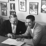 Ted Williams becomes highest paid Red Sox player of all time
