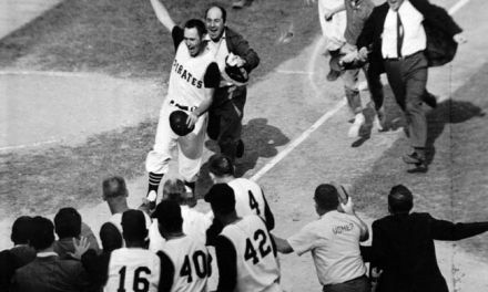 Bill Mazerowski hits Walk off World Series Homerun for Pittsburgh Pirates